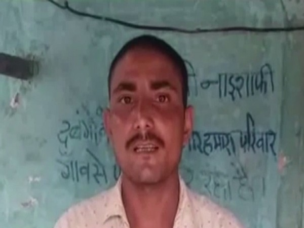 Kuldeep Kumar is forced to leave his village after receiving constant threats by locals (Photo/ANI)