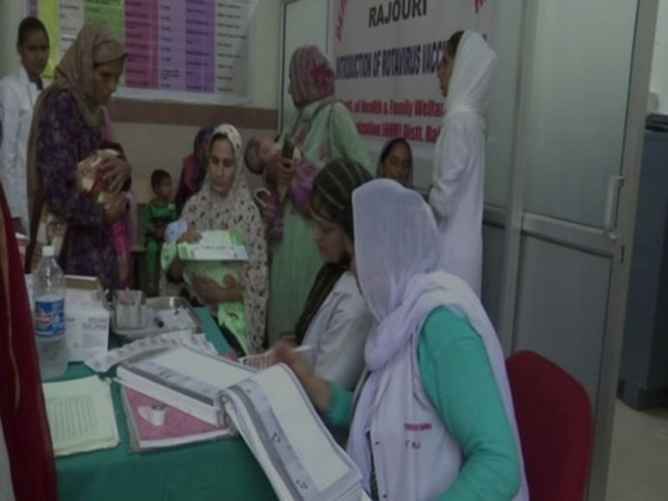 Patients in Rajouri are now able to avail advanced healthcare facilities in Government Medical College (GMC) and Associated Hospital Rajouri. (Photo/ANI)