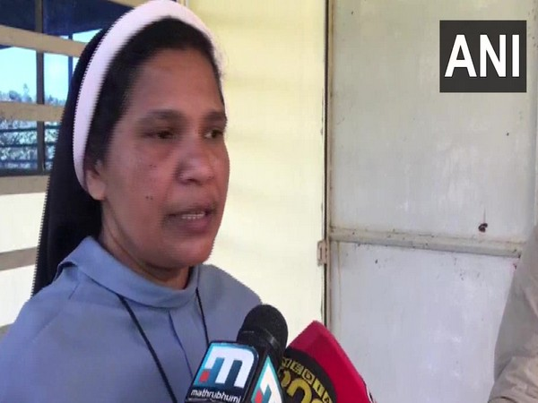 Sister Lucy Kalappura while speaking to reporters on Saturday (Photo/ANI)