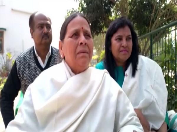Former Bihar Chief Minister Rabri Devi
