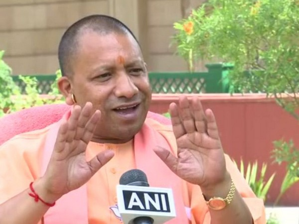 Uttar Pradesh Chief Minister Yogi Adityanath during an interview with ANI in Lucknow on Friday. Photo/ANI