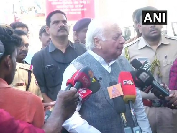 Governor of Kerala Arif Mohammad Khan while speaking to the reporters on Thursday (Photo/ANI)