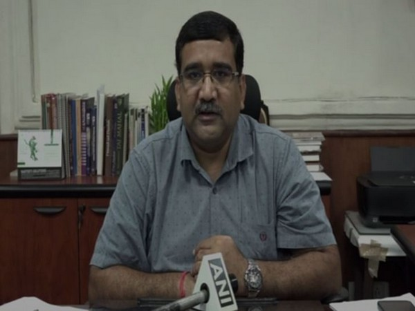 Basant Kumar Swarnkaar, Superintendent, Archaeological Survey of India (ASI) department, Agra (Photo/ANI)