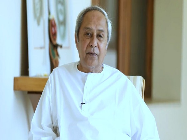 Odisha Chief Minister Naveen Patnaik      Photo/ANI