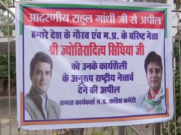 The appeal was made on the behalf of all worker Madhya Pradesh Congress Committee. (Photo/ANI)