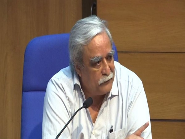 Dr Raman R Gangakhedkar, Indian Council of Medical Research (ICMR) during Health Ministry's press briefing held on Thursday (Photo/ANI)