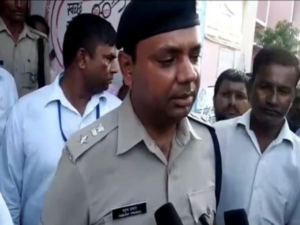 Yamuna Prasad, Superintendent of Police (Photo/ANI)