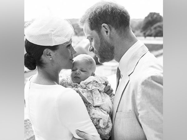 Meghan Markle and Prince Harry with their child (Image courtesy: Instagram)