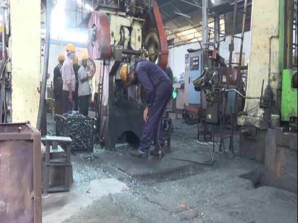 India is a world's third-largest casting producers and Shivamogga is the biggest exporter in this sector in the country. Photo/ANI