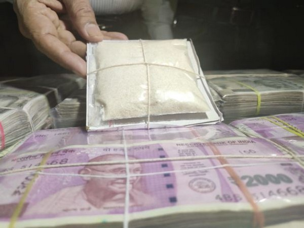 Maharashtra ATS seized 129 kg of MD drugs and over Rs 1 crore in cash. (Photo/ANI)