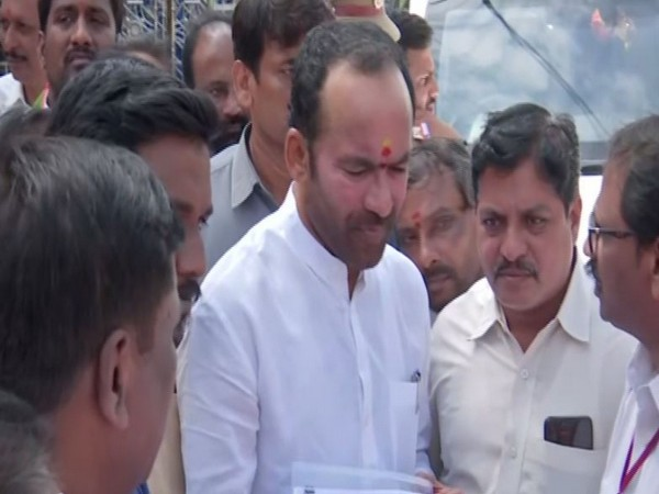 Minister of State of Home Affairs Kishan Reddy