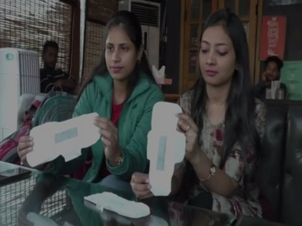 RI Nanotech launches biodegradable sanitary napkins in Haldwani (Photo/ANI)