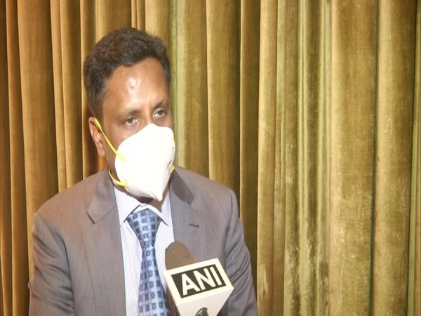 Dr Anantharaman, Senior Consultant Interventional Cardiologist in conversation with ANI. (Photo/ANI)