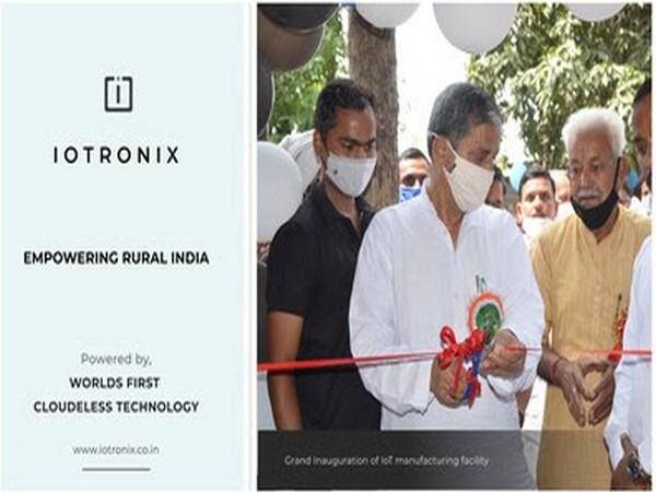 To boost #MakeInIndia and #AtmanirbharBharat, IoTronix inaugurates largest IoT manufacturing facility in Uttar Pradesh