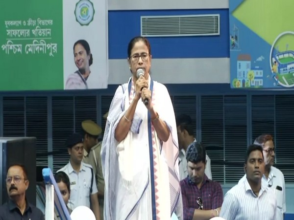 West Bengal Chief Minister Mamata Banerjee in Kolkata on Friday. (Photo/ANI)