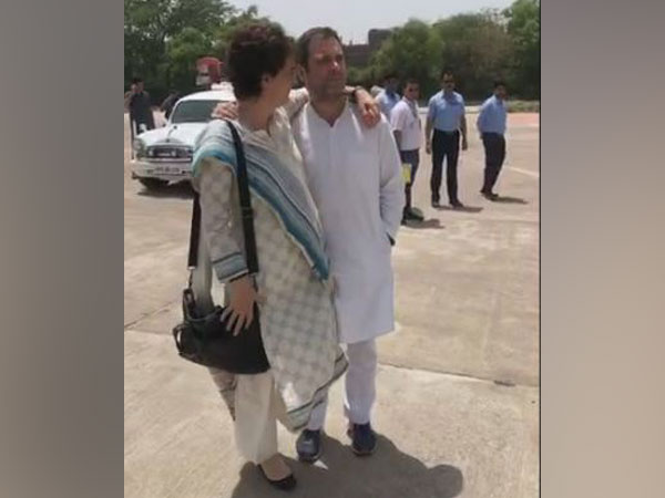 A still from a video that Rahul shared on his facebook page