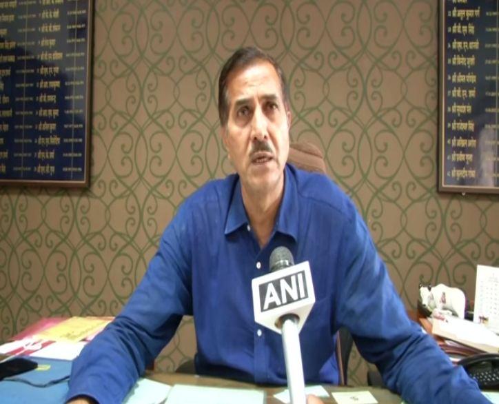 Jagroop Singh Yadav, District Collector, Jaipur while speaking to ANI on Monday (Photo/ANI)