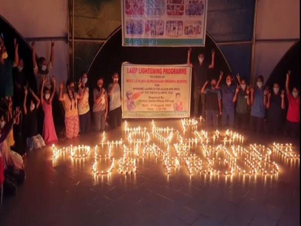 Visuals from prayer meet (Photo/ANI)