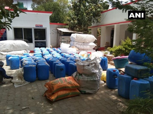 Police seized raw material used for making toxic alcohol