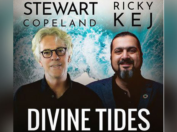Grammy(r) Winner from India, Ricky Kej, and Rock legend Stewart Copeland (The Police) release 'Divine Tides'