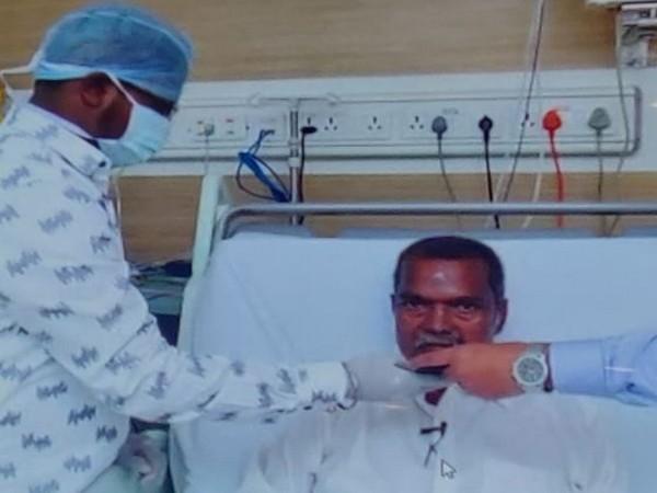 Jharkhand Education Minister Jagarnath Mahto admitted to hospital in Chennai, Tamil Nadu.