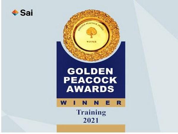 Sai Life Sciences wins Golden Peacock National Training Award 2021