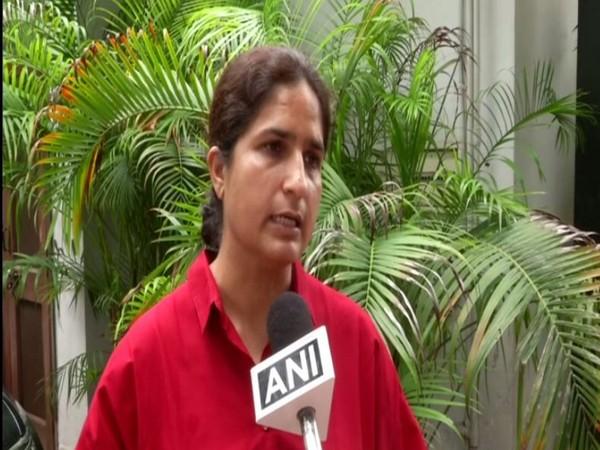 Ranjeet Ranjan speaking to ANI on Tuesday