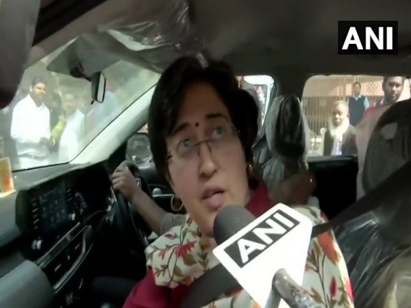 Aam Aadmi Party's Atishi while speaking to ANI on Wednesday (Photo/ANI)