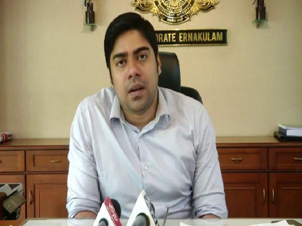 S Suhas Deputy Commissioner (DC), Ernakulam District, Kochi, while speaking ANI on Monday. (Photo/ANI)