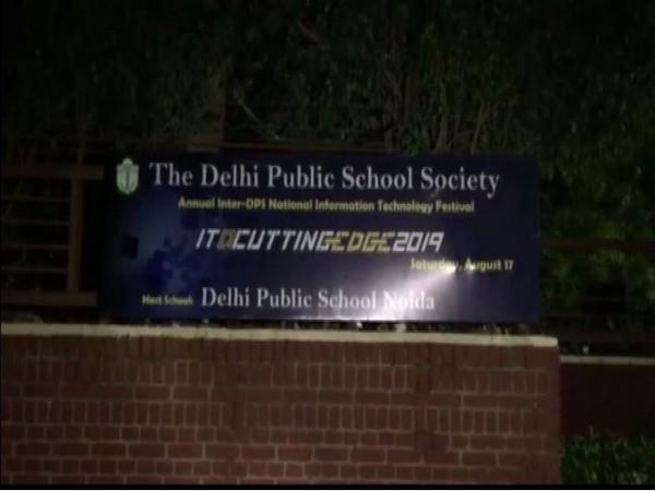 Woman found dead in DPS  Noida school on Thursday. [Photo/ANI]