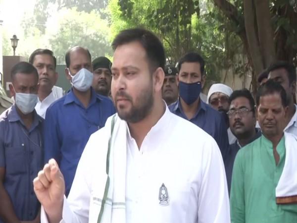 Rashtriya Janata Dal (RJD) leader Tejashwi Yadav (Photo/ANI)