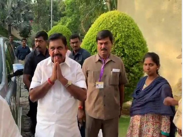 Chief Minister E Palaniswami arrives in Tirumala