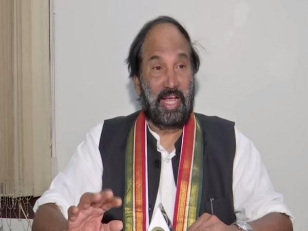 N. Uttam Kumar Reddy, TPCC president speaking to ANI on Friday (Photo/ANI)