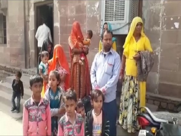 The Pakistani Hindu family is staying in India for the last six years. Photo/ANI