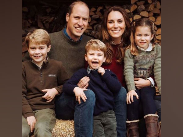 Prince William, Kate Middleton, and their 3 kids (Image courtesy: Instagram)