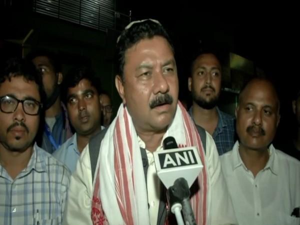 Assam BJP chief Ranjeet Kumar Dass (Photo/ANI)