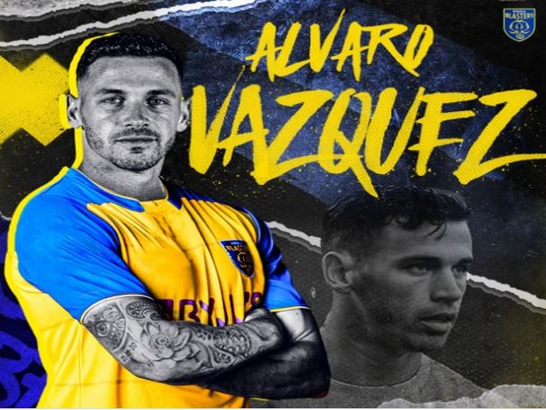 Álvaro Vasquez (Foto: Kerala Blasters)
