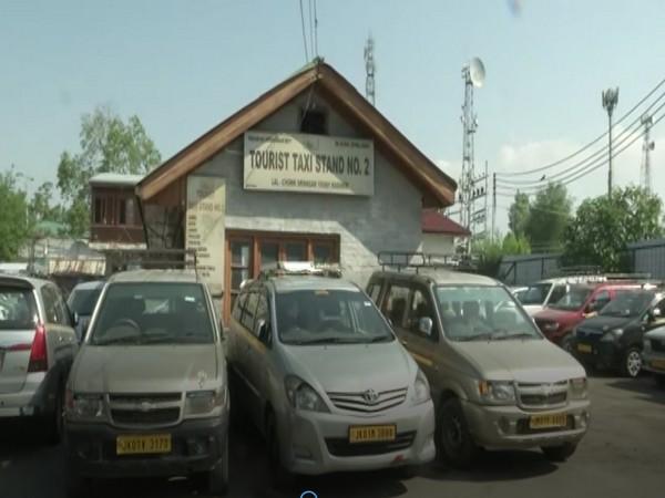Visual from Lal Chowk in J-K's Srinagar. (Photo/ANI)