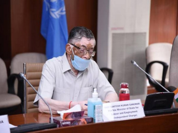 Union Minister of State for Labour and Employment, Santosh Gangwar (Photo Credit: PIB)