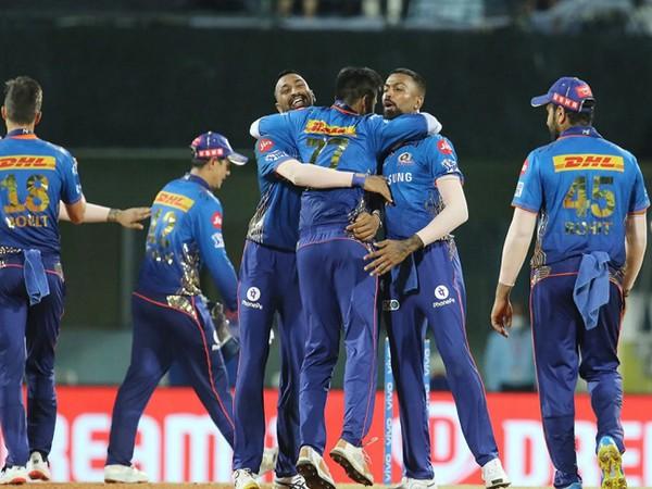Mumbai Indians beat KKR by 10 runs (Image: BCCI/IPL)