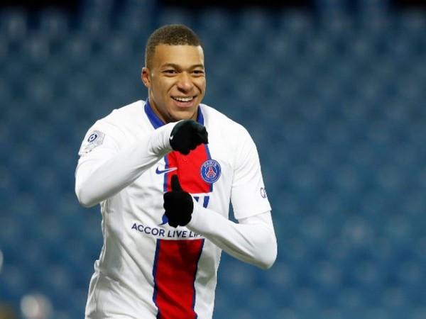PSG striker Kylian Mbappe (file image)