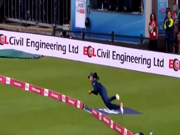 Harleen Deol (Image: England Cricket's Twitter)