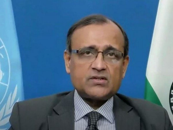 Ambassador TS Tirumurti Permanent Representative of India to the United Nations (Photo/ANI)