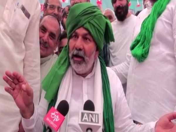 BKU leader Rakesh Tikait. (Photo/ANI)