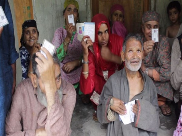 Pension, scholarships schemes of central government are making a positive impact in life of people in Anantnag. (Photo/ANI)