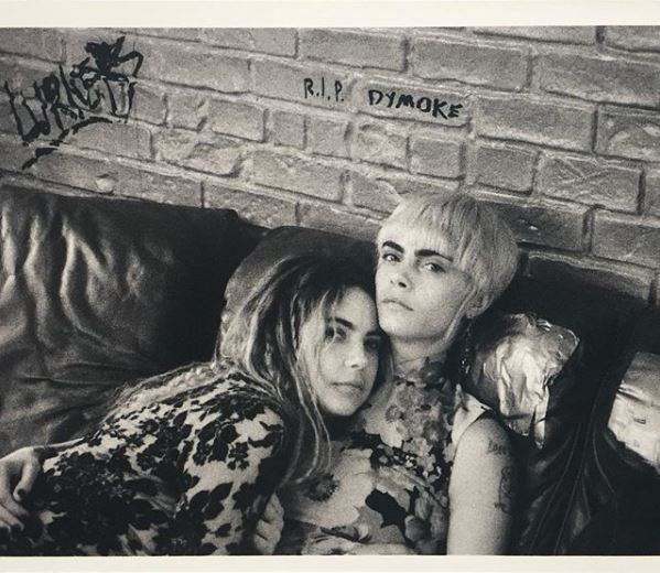 Ashley Benson and Cara Delevingne (Image courtesy: Instagram)