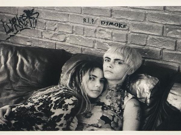 Ashley Benson and Cara Delevingne (Image courtesy: Instagram)