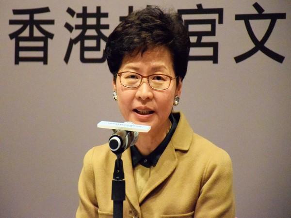 Hong Kong leader Carrie Lam (File pic)