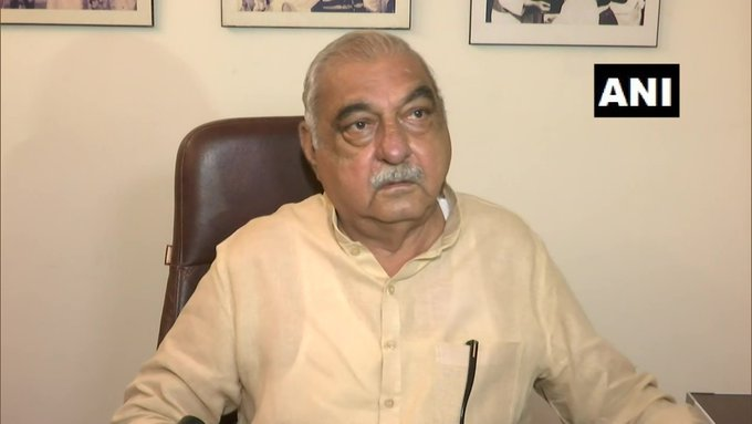 Former Haryana Chief Minister Bhupinder Singh Hooda (Photo/ANI)