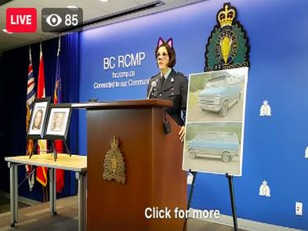 Screenshot of Royal Canadian Mounted Police's press conference on Friday